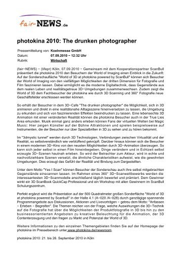 PDF :: fair-NEWS.de :: photokina 2010: The drunken photographer