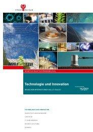 Technologie und Innovation - Wirtschaftsregion Leipzig-Halle