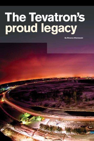 The Tevatron's proud legacy - Symmetry Magazine