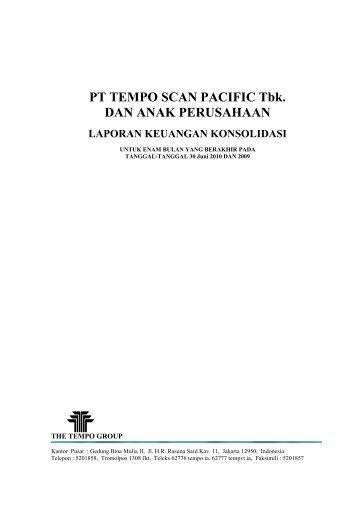TSPC-Catatan LKTW-II 2010 (idxnet).pdf - Jakarta Stock Exchange