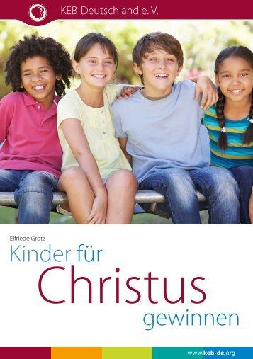 Kinder für Christus gewinnen