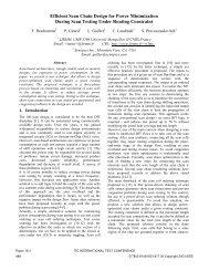 Efficient Scan Chain Design for Power ... - Itcprogramdev.org