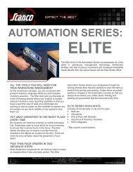 automation series: elite - Scanco