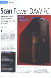 Scan Power DAW PC - Scan 3xs Systems
