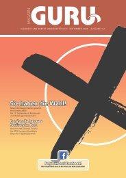 GURU Magazin, Ausgabe September 2020