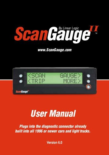 scangauge ii manual rh yumpu com ScanGauge II Codes ScanGauge Mount Pod