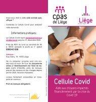 Aide aux citoyens impactés financièrement par la crise du Covid-19
