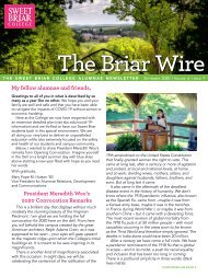 The Briar Wire | Vol. 6, Issue 7 | September 2020