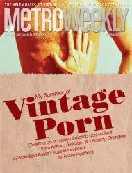 My Summer of Vintage Porn - September 3, 2020