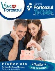 Revista VivePortoazul Agosto, 2020