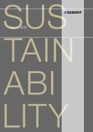 Report 2010 Tain A Bi - Geberit International AG