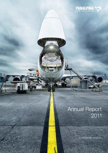 Panalpina Annual Report 2011