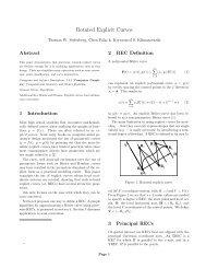 Rotated Explicit Curves - CiteSeerX