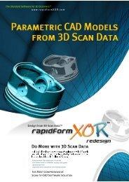 PARAMETRIC CAD MODELS 7 - 3D Scanning Services