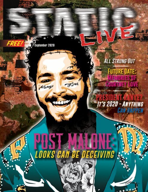 Static Live Magazine September 2020