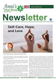 Self-Care, Hope,  and Love