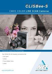 LINE SCAN Cameras CMOS COLOR LINE SCAN Cameras