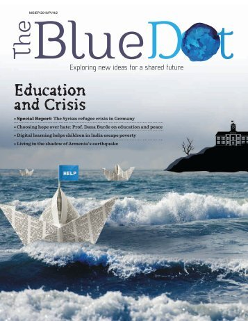 The Blue Dot Issue 3: Education & Crisis
