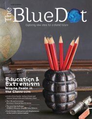 The Blue Dot Issue 4: Education & Extremism - Waging Peace in the Classroom