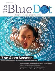 The Blue Dot Issue 5: The Seen Unseen