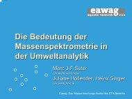 Die Bedeutung der Massenspektrometrie in der Umweltanalytik