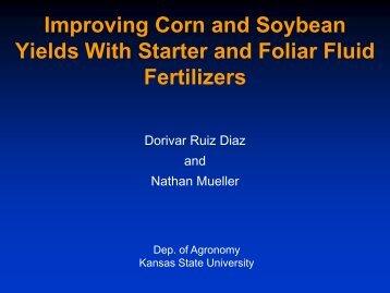 Starter treatment Yield - Fluid Fertilizer Foundation