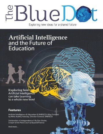 The Blue Dot Issue 9: Artificial Intelligence and the Future of Education