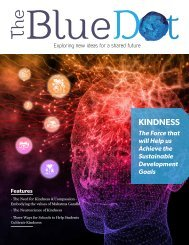The Blue Dot Issue 11: The Force that will Help us Achieve the Sustainable Development Goals