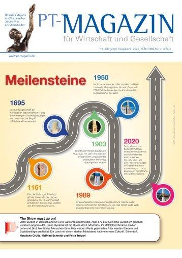 Magazin 05 2020_Meilensteine