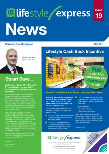 Stuart Says... - BA Cash & Carry
