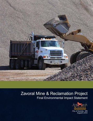 1. Zavoral FEIS, Response to Comments on Draft - Scandia
