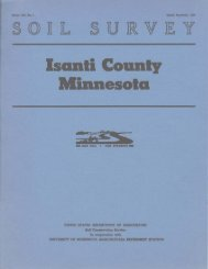 Soil Survey of Isanti County, Minnesota (1958) - Soil Data Mart