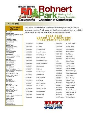 2 01 2 B - Rohnert Park Chamber of Commerce