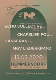Hemmersdorf Pop Festival 2020 Programmheft