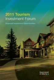 2011 Tourism - Alberta Tourism, Parks and Recreation ...
