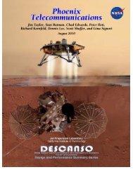 Outline for Descanso Phoenix Telecommunications article