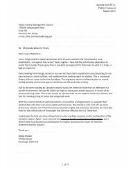Terrific Agenda Item B 1 Supplemental Open Comment 2 Pacific Machost Co Dining Chair Design Ideas Machostcouk