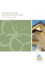 Fassadensanierung mit mineralischen Putzen - Industrieverband ...