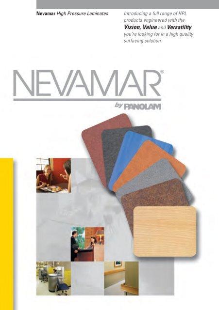 Vision Value And Versatility Nevamar