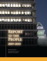 Report People - Los Angeles County District Attorney's Office