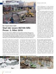 der neuen 80/100-MN- Presse - Buderus Edelstahl GmbH