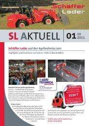 Schäffer Lader auf der Agritechnica 2011 - Hoflader - Teleskoplader ...