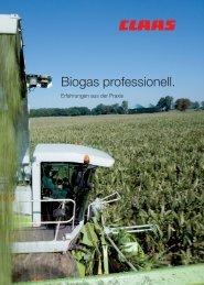 Biogas professionell. - Kaufmann Landtechnik GmbH