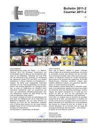 SGA-Bulletin 3/05 - Schweizerische Gesellschaft für Akustik