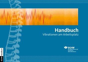 "Handbuch ""Vibrationen am Arbeitsplatz"" - Berufsgenossenschaft ..."