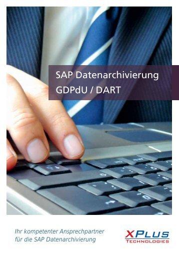 GDPdU und DART. - XPlus Technologies