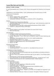 Protokoll Über Dach und Fach 2008 - Philipp-Holzmann-Schule