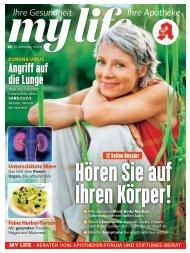 my life_Ausgabe 15.09.2020_Vorableseprobe für WAVE Kunden