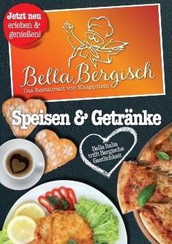 Bella Bergisch – Speisekarte