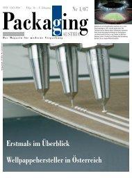 Erstmals im Überblick Wellpappehersteller in ... - Packaging Austria